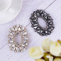 1PC rhinestone metal shoe clips women bridal shoes buckle decor accessories HC