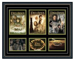 THE LORD OF THE RINGS TRILOGY SIGNED POSTER LIMITED EDITION FRAMED MEMORABILIA