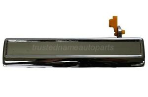 fits Buick Chevy Oldsmobile Pontiac Outside Door Handle Chrome Driver Front