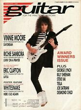 1988 February Guitar For The Practicing Musician - Vintage Magazine