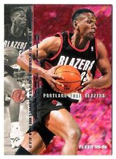 Otis Thorpe 1995-96 Fleer Portland Trail Blazers Insert Basketball Card