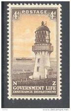 NEW ZEALAND, 1947-65 4d (wmk s/ways, white paper, SGL47a very fine UM (D)