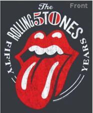 Rolling stones 50 years Camiseta chico Oficial Manga Corta men