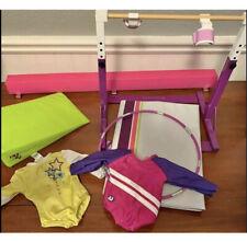 American Girl Doll Gymnastics Set EUC