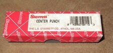 STARRETT CENTER PUNCH IN ORIGINAL BOX  - 18 AA
