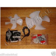 Universal Fridge, Freezer Utility Fan Motor & Fan Blade Kit - Part # RFSM-672