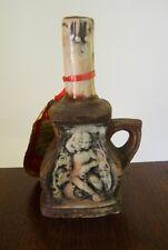 Bottiglia boccetta con manico in ceramica pugliese liquore Beltion mignon OMA19