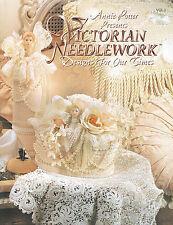 Crochet Victorian Needlework crochet pattern book by Annie Potter