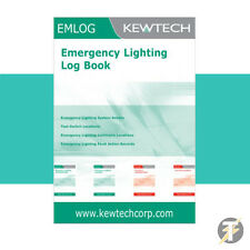 Kewtech emlog (em1log) Luz de emergencia Diario/Inspección Registradora