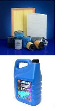 Mondeo 2.0 TDCI 11/00>06 Air,Oil,Fuel & Pollen filters + 6Ltr Synthetic 5w30 Oil