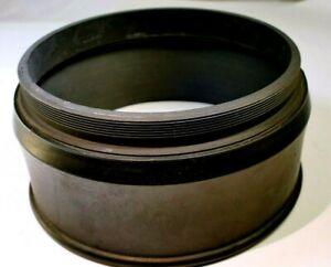114mm Lens threaded Rubber Hood shade telephoto 600mm 500mm
