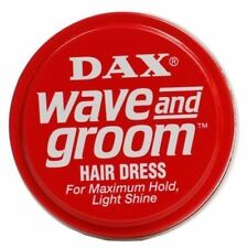 2 X DAX Wax Red Wave and Groom 99g Tin