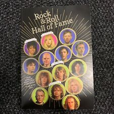 NEW ROCK & ROLL HALL OF FAME INDUCTION 2019 Stevie Nicks Janet Jackson BOOK & CD