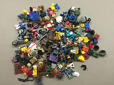 HUGE Lot of 1/2 pound of Non Lego Mega Blok Minifigs minifigures minifig M212