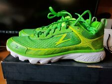 (BNWB) Zoot Solana Running Shoes. Green/Yellow/White. Size 11.5. (Awesome shoes)