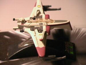 Star Wars 2005 ARC-170 Bomber Titanium 100% Compl w/Card C-6 Hasbro Galoob METAL