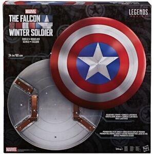 Marvel Legends Falcon and Winter Soldier Captain America Shield Hasbro New