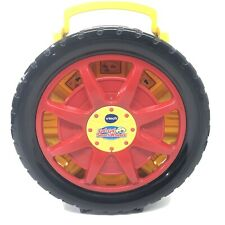 Vtech Go Go Smart Wheels Carrying Case And Launcher Car Tire Toy Holder Complete