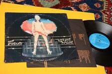 NEW PERIGEO LP EFFETTO AMORE 1°ST ORIG ITALY PROG 1981 EX