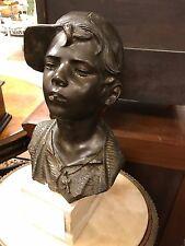 """Bronze  Statue- """"Scugnizzo"""" by Giovanni De Martino"""