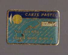 Pin's France Télécom / Carte pastel