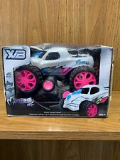 Kids Monzoo RC Full Function Remote Control 49 MHz Toy Car Pink  White Blue