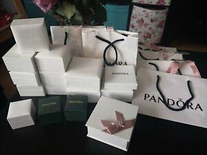 Pandora Schmuckkasten Schmuckbox   OVP 20 x boxen +7 X Tütten