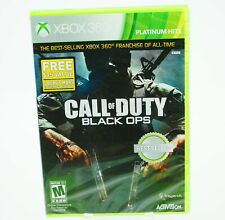 Call of Duty Black Ops Limited Edition: Xbox 360 [Brand New]