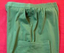BRECKENRIDGE  ... Pull On  Cotton  Blend  Pants ... Green ... Size  16
