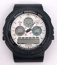 Casio AW-20 Cal. 384 Vintage Digiana Display Chronograph 41 mm Non Working 3WC