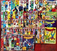 SPIDER MAN WEEKLY BUNDLE ISSUES 550 - 633 Missing 559 MARVEL UK 1982/83 - RARE