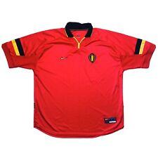 🔥Vintage Belgium 1998/00 Home Football Shirt Nike - Size XXL🔥