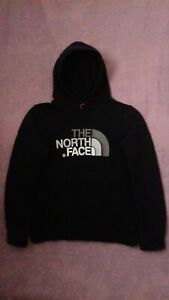 The North Face Boys Black Hoodie Size L Age 11-12 Years