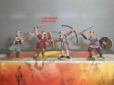 CONTE SPQR020 ROMAN EMPIRE BARBARIANS FIGHTING METAL TOY SOLDIER FIGURE SET