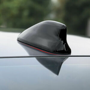 For Toyota Camry Corolla Avalon 19up Black Shark Fin Antenna Receiver Cover Trim