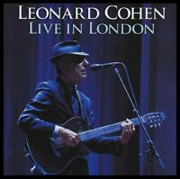 LEONARD COHEN (2 CD) LIVE IN LONDON ~ CLASSIC FOLK ROCK SUZANNE~HALLELUJAH *NEW*