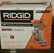 Ridgid 18v BRUSHLESS Compact Router R86044B