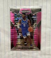 2019-20 Panini Prizm RJ Barrett Pink Pulsar SP #66 Rookie RC Knicks NM Mint