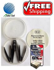 """#2 Tire ReGroover Grooving Blades (5.5mm)(1/4"""") 20 pc Square"""