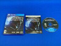 [TESTED] Star Wars Battlefront II Elite Trooper Deluxe Edition PlayStation 4 PS4
