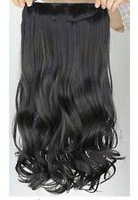 Haarverlängerung Haar gewellt glatt Clips Extensions Haarteil Haarverdichtung