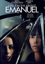 The Truth About Emanuel (DVD, 2014) sealed, Kaya Scodelario, Jesica Biel