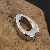 Small Charm Teardrop Cremation Urn Pendant Jewelry for Pets Human Ashes
