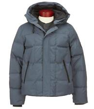 UGG Australia Technical Water Resistant Down Hooded Jacket/Parka sz XL Blue/Gray