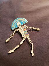 Disney DCA Dia de los Muertos Day of the Dead Dangle Man Skeleton Pin