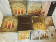 Age of Empires 3 Collectors Edition PC Big Box game rare