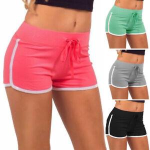 Women Sport Shorts High Waist Yoga Gym Jogging Lounge Summer Beach Hot Pants