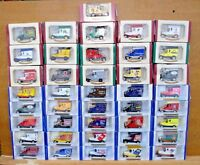 "OXFORD DIECAST MODELS 1920's FORD MODEL ""T"" VANS CHOOSE FROM LIST - LOT F9"