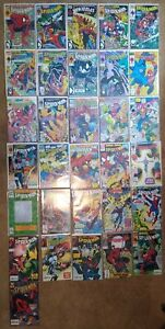 SPIDER-MAN 31 COMIC SET Todd McFarlane and others Marvel 1990+