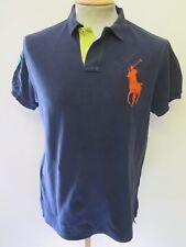 "Genuine vintage Ralph Lauren Men's blue polo shirt Taille M 38-40"" Euro 48-50"